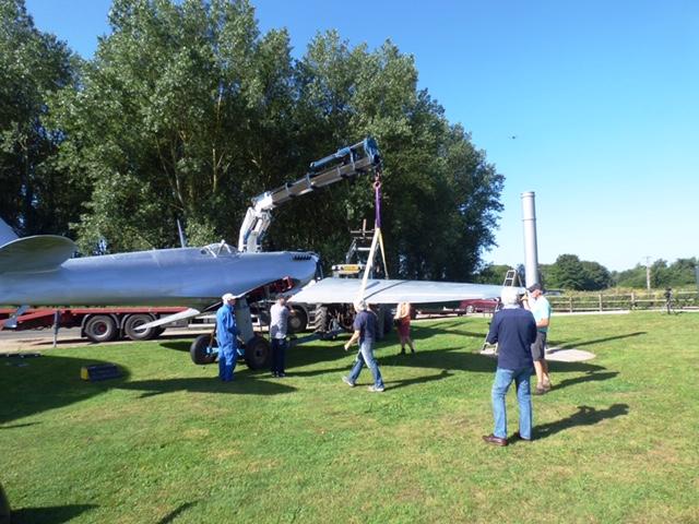Spitfire Being Assembled